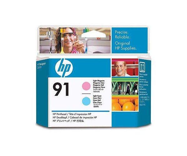 Печатающая головка HP Printhead HP 91 Light Magenta and Light Cyan (C9462A) cn642a for hp 178 364 564 564xl 4 colors printhead for hp 5510 5511 5512 5514 5515 b209a b210a c309a c310a 3070a b8550 d7560