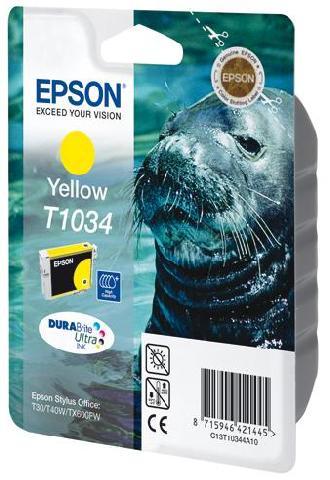 Картридж экстраповышенной емкости с желтыми чернилами T1034 (C13T10344A10) цены онлайн