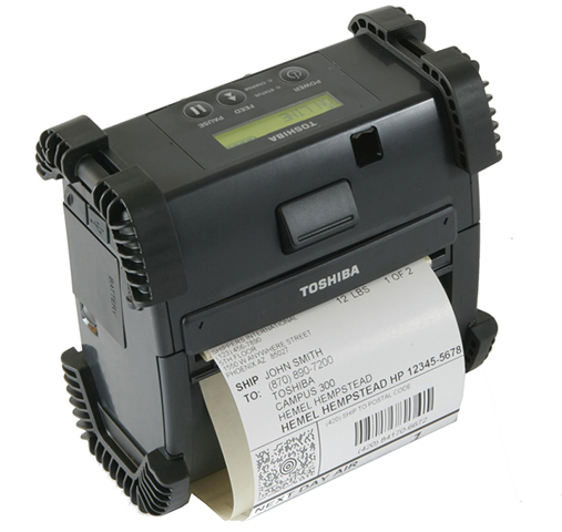 Принтер этикеток Toshiba B-EP4DL RS-232C