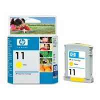 Картридж HP Inkjet Cartridge №11 Yellow (C4838A) картридж hp inkjet cartridge 90 black c5058a
