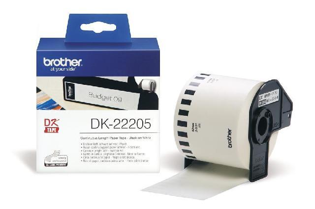 Клеящаяся лента Brother DK22205 Компания ForOffice 808.000