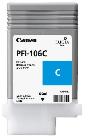 Картридж Canon Cyan PFI-106C (голубой)