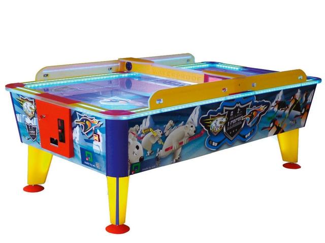Игровой стол_Аэрохоккей Wik Arctic (всепогодный, купюроприемник)