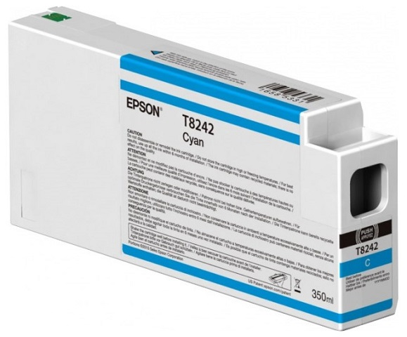 T8242 Cyan 350 мл (C13T824200) принтер epson surecolor sc p9000 std c11ce40301a0