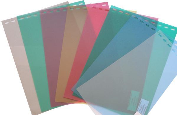 Обложки пластиковые, Матовые (ПП), A4, 0.30 мм, Желтый, 50 шт