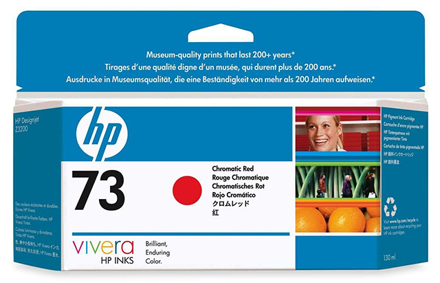 Картридж HP Pigment Ink Cartridge №73 Chromatic Red (CD951A) картридж для принтера hp 11 c4837a ink cartridge magenta