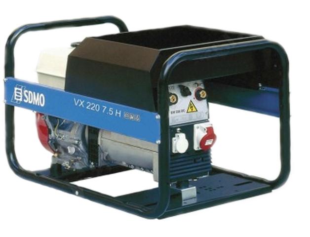 VX 220/7.5H-S sdmo weldarc 200