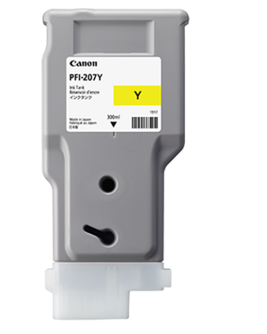 Картридж Yellow PFI-207 Y (желтый) for canon pfi 107 disposable cartridge chip for canon ipf680 ipf685 ipf770 ipf780 ipf785 printer