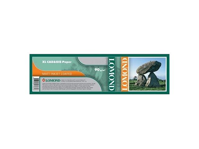 где купить Бумага матовая для САПР и ГИС с роллом 50.8 мм, 90 г/м2, 0.914x90 м дешево