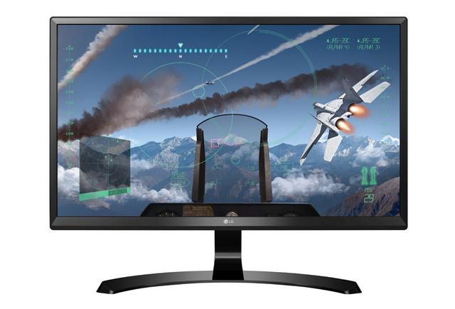 23.8 24UD58-B Black монитор игровой lg 24ud58 b