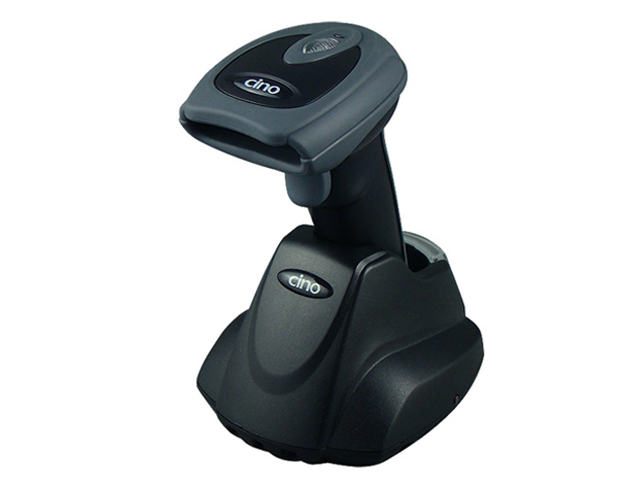 Беспроводной сканер штрих-кода_Cino F780BT RS темный (в комплекте с базовой станцией) Компания ForOffice 15268.000