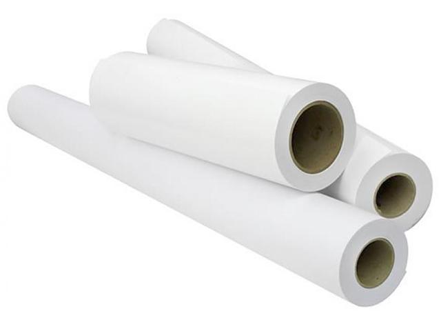 Бумага для САПР и ГИС матовая с роллом 50.8 мм, 90 г/м2, 0.914x45 м фотобумага lomond xl matt self аdhesive photo paper самоклеящаяся с роллом 50 8 мм 90 г м2 0 610x20 м