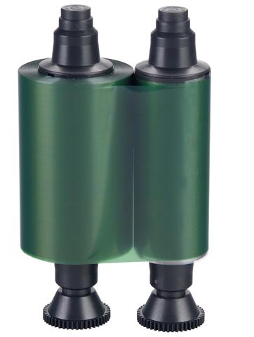Зеленая монохромная лента RCT014NAA evolis avansia duplex expert