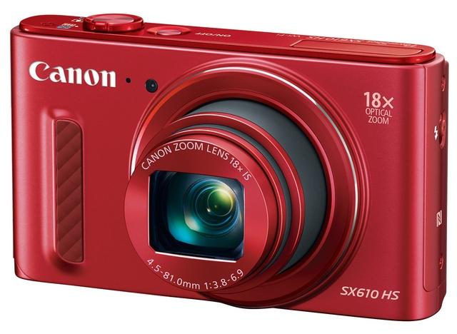 Canon PowerShot SX610 HS (красный) фотоаппарат canon powershot sx610 hs black