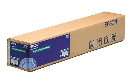 Epson Doubleweight Matte Paper 24, 610мм х 25м (180 г/м2) (C13S041385) цена 2017