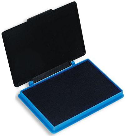 Подушка штемпельная Кores синяя 7х11см пластиковый корпус Компания ForOffice 74.000