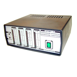 Пульт газоанализатора-сигнализатора   Сигнал-03.4.2