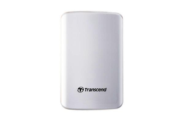 Внешний жесткий диск Transcend StoreJet 25D3 1 ТБ (TS1TSJ25D3W), белый