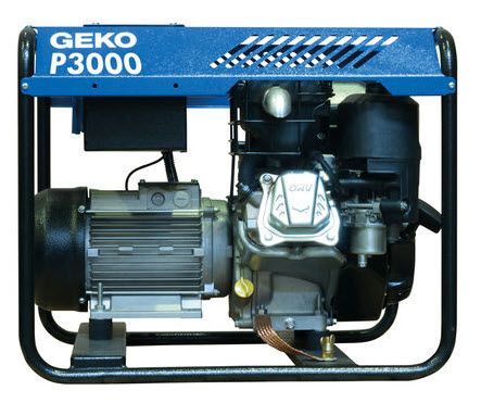 Бензиновый генератор_Geko P 3000 E-A/SHBA