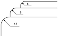 Сменный нож для Cyklos UCR-9 (550 45 497)