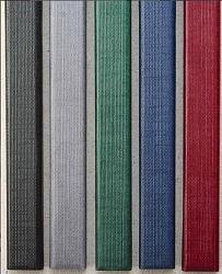Цветные каналы с покрытием «Ткань» O.CHANNEL А5 217 мм 32 мм черные