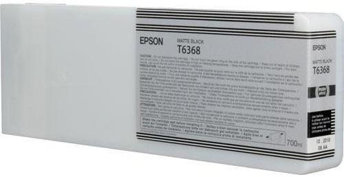 Картридж повышенной емкости с матовыми черными чернилами T6368 (C13T636800) 5pc lot maintenance tank chip for epson 7890 9890 7908 9890 7900 9900 7910 9910