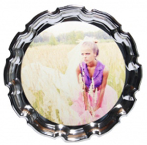 Тарелка металлическая от FOROFFICE