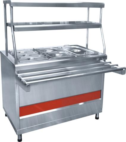 Прилавок-мармит вторых блюд Аста ПМЭС-70КМ-60