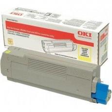 OKI Тонер-картридж Toner-Y 10k C833/C843 (46443113) (46443113)