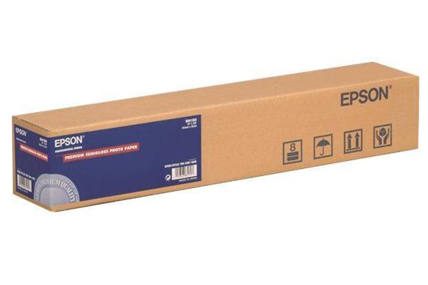 Premium Semigloss Photo Paper 24, 610мм х 30.5м (166 г/м2) (C13S041393) цены онлайн