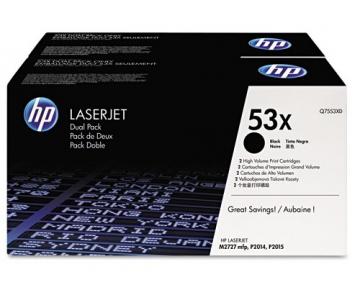 все цены на Тонер-картридж HP Q7553XD