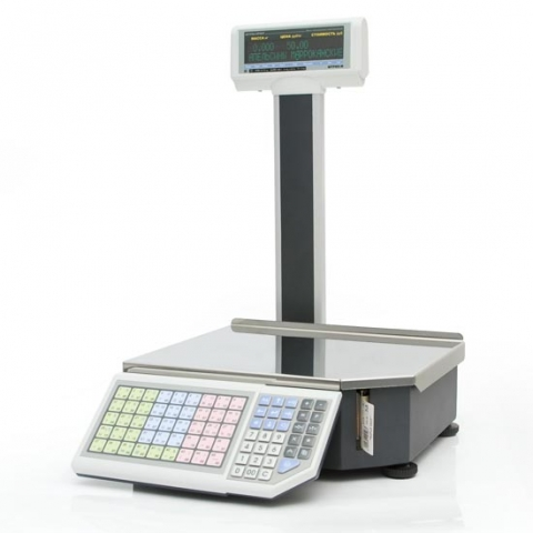 Весы с печатью этикеток Штрих-ПРИНТ M 15-2.5 Д1И1 (v.4.5)