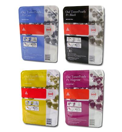 Картридж OCE ColorWave 600 Cyan/Magenta/Yellow/Black, 5 комплектов по 4 цвета х 500 гр. (39800058)