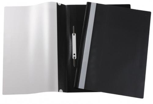 Папка-скоросшиватель A4 Attache с прозрачным верхом, черная Компания ForOffice 7.000