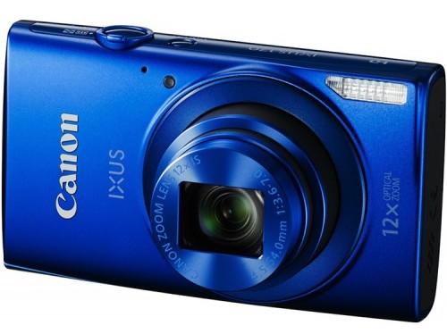 Компактный фотоаппарат Canon IXUS 180 (синий)