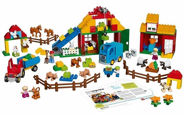 Купить Большая ферма Lego Duplo в официальном интернет-магазине оргтехники, банковского и полиграфического оборудования. Выгодные цены на широкий ассортимент оргтехники, банковского оборудования и полиграфического оборудования. Быстрая доставка по всей стране