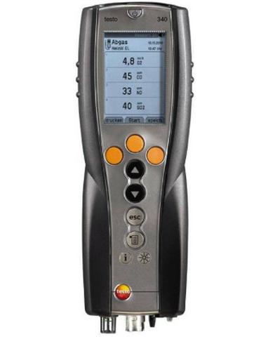 Анализатор дымовых газов Testo 340 NO2-четырехсенсорный комплект без зонда