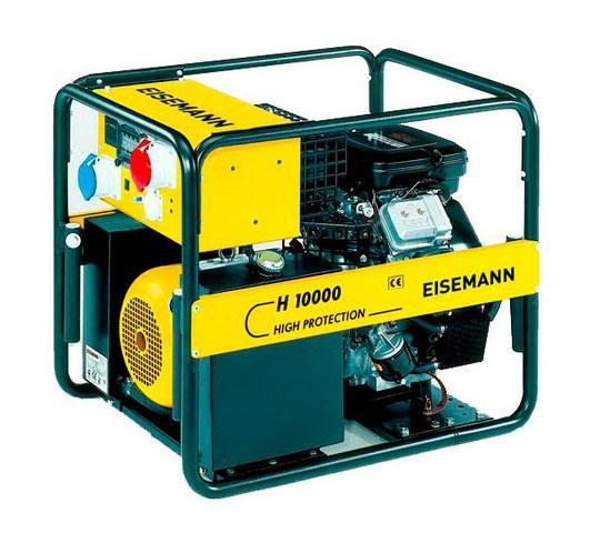 Бензиновый генератор_Eisemann H 10000