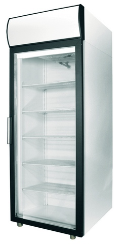 Шкаф холодильный_Polair ШХ-0,5 ДС (DM105-S) (стеклянная дверь)