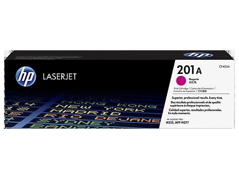 Картридж HP 201A LaserJet (CF403A) картридж hp cf403a для laserjet pro m252n m252dw пурпурный 1400 страниц hp 201a