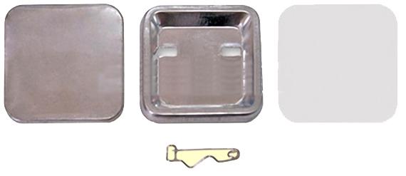 Заготовки для значков 37х37 мм, булавка,100 шт заготовки для значков 60х90 мм булавка 100 шт