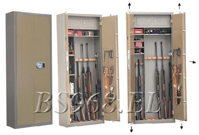 Оружейный сейф Gunsafe BS968 EL