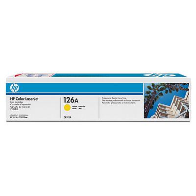 Тонер-картридж HP CE312A t2 ce312a 729 1000 стр