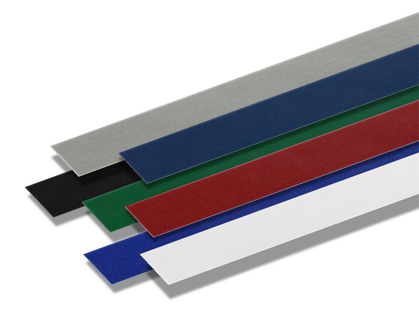 Термокорешки COPY Strips A4, 50 мм, серые, 100 шт