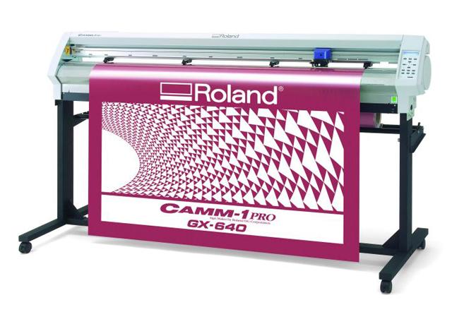 Режущий плоттер_Roland GX-640