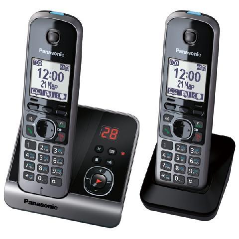 Panasonic KX-TG6722RUB panasonic kx tg8061 rub dect телефон