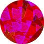 Фольга голограмма 13, Рулонная, 203 мм, 30 м, красное битое стекло фольга голограмма 36 рулонная 203 мм 30 м золотая метель