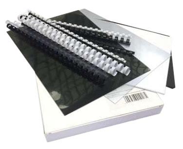 Стартовый набор обложек и пружин для переплета стартовый набор обложек и пружин для переплета office kit mla50050