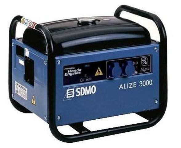 Бензиновый генератор_SDMO Alize 3000