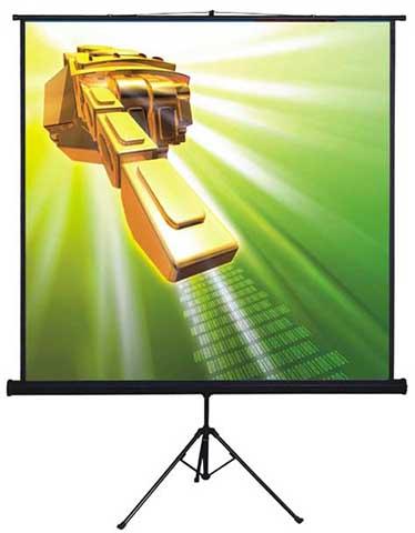 Проекционный экран_Classic Libra 160x160 (1:1)